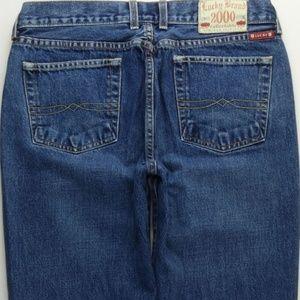 Lucky Brand Straight Leg Jeans Women's 12/31 A124